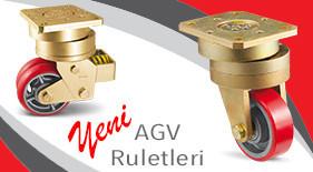 AGV Ruletleri Yeni Ürün